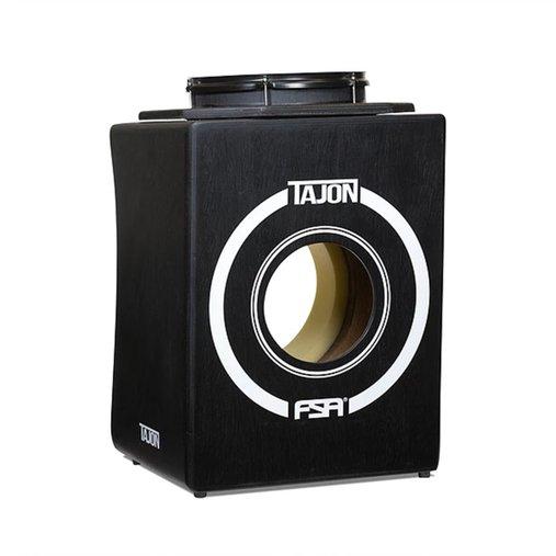 Tajon Flip FSA TAJ31 Preto Cajon Tipo Bateria Com Bumbo E Caixa Perfeito Para Apresentações Acústicas