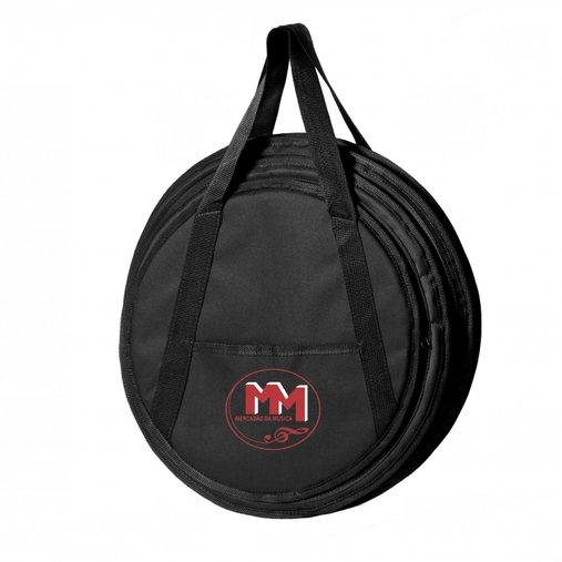 Capa Bag Para Pratos Avs Mercadão Da Música Três Divisórias