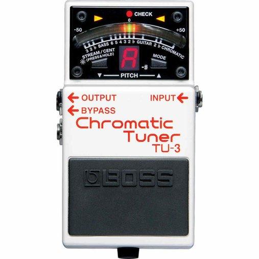 Pedal Guitarra Tuner Afinador Cromático Boss Tu-3