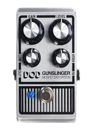 Pedal Para Guitarra Dod Digitech  Gunslinger Mosfet Distortion