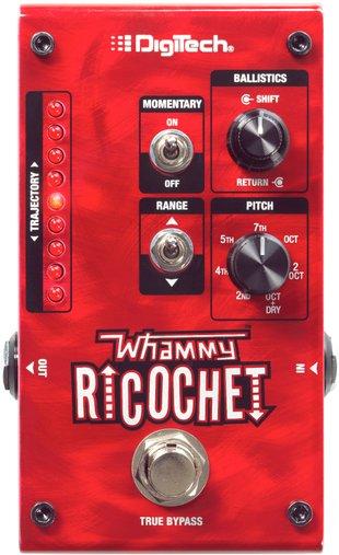 Pedal Para Guitarra Digitech Whammy Ricochet V00 Com LED Medidor De Trajetória