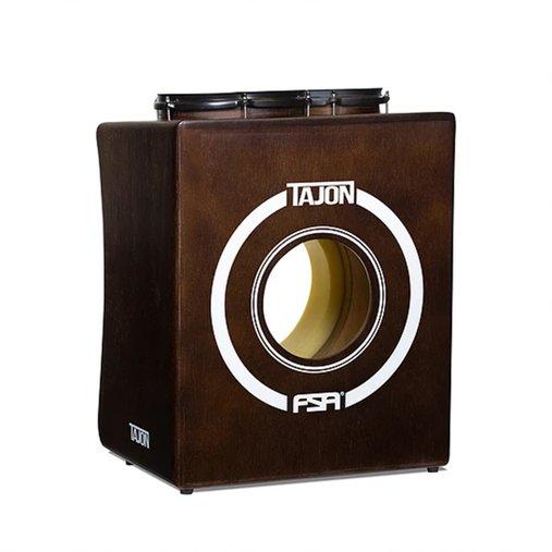 Tajon FSA TJ10 Tabaco Cajon Tipo Bateria Com Bumbo, Caixa e Tom Perfeito Para Apresentações Acústicas