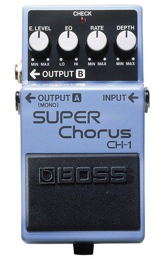 Pedal Para Guitarra BOSS CH 1 Super Chorus Com Função EQ Que Ajusta Tonalidades