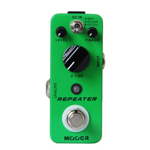 Pedal Para Guitarra Mooer Repeater Delay Analógico/Real Echo/Tape Echo Micro Series