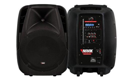 Caixa Novik Multiuso Rolling Sound 10 BT Bluetooth Com 50 Wrms De Potencia