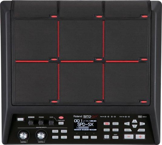Bateria Eletrônica Roland Spd Sx Sampling Pad