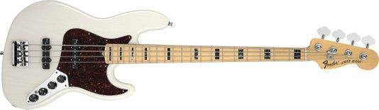 Contrabaixo Fender 4 Cordas Jazz Bass American Deluxe Series Vintage Blonde