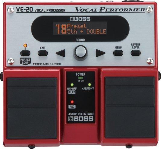Processador Vocal Boss VE-20 Voz e Violão + Fonte Hayonik Brinde