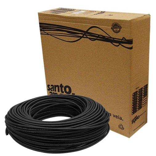 Cabo Para  Microfone Santo Angelo Balanceado Sc30 Rolo 100 Metros