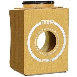 Tajon Flip FSA TAJ36  Natural Cajon Tipo Bateria Com Bumbo E Caixa Perfeito Para Apresentações Acusticas