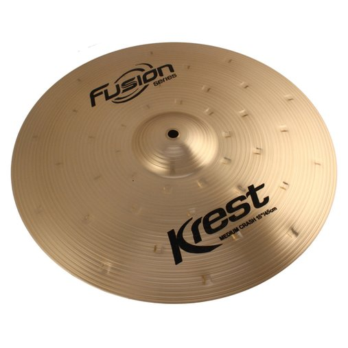 "Prato Para Bateria Krest Fusion Series Medium Crash 18"" F18MC - Ataque"