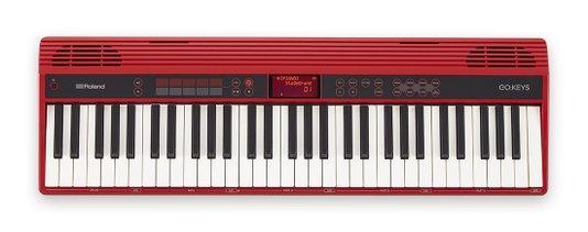 Teclado Roland Go Keys 61 K Vermelho Com Função Loop Mix