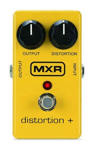 Pedal Para Guitarra Dunlop MXR Distortion + (Plus) M104 Com Bypass True Hardwire