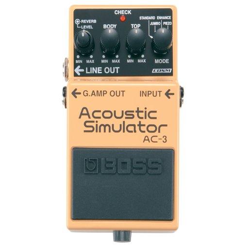 Pedal Para Guitarra Boss Acoustic Simulator AC-3