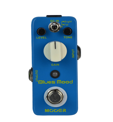 Pedal Para Guitarra Mooer Blues Mood Overdrive Micro Series
