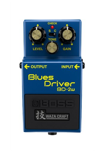 Pedal Guitarra Boss Blues Driver Bd-2w Waza Craft Bd2w