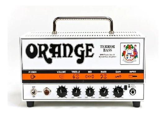 Amplificador Cabeçote Baixo Orange Terror 500w Válvulado