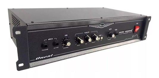 Amplificador Cabeçote Oneal Ocb 1000hx 350Wrms P/baixo