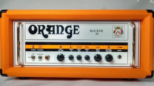 Amplificador Cabeçote Orange Rocker Rk30 30Watts Válvulado