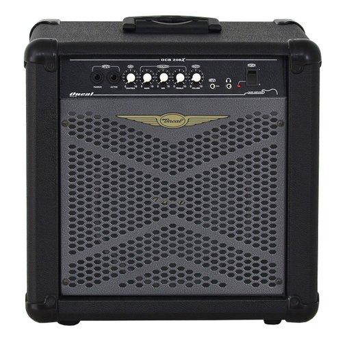 Amplificador Cubo Contra Baixo Oneal Ocb 208x 30w Rms