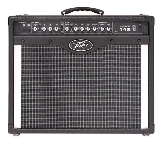 Amplificador Cubo Para Guitarra Peavey Bandit 112 80w Rms