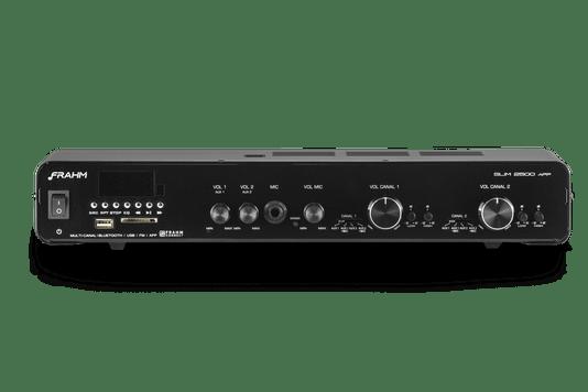 Amplificador Frahm Misturador 2500 App G3 160 Watts