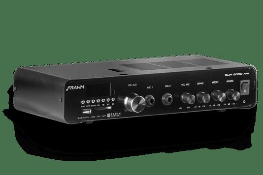 Amplificador Frahm Misturador Slim 2000 App G3 120wrms