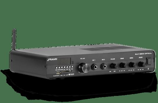 Amplificador Frahm Misturador Slim 2200 Optical G3 120w