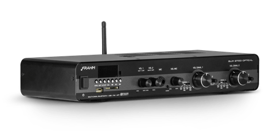 Amplificador Frahm Misturador Slim 2700 Optical G3 160w