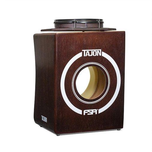 Tajon Flip FSA TAJ30  Tabaco Cajon Tipo Bateria Com Bumbo E Caixa Perfeito Para Apresentações Acusticas