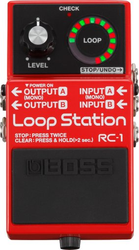 Pedal Para Guitarra Boss RC 1 Loop Station RC 1 Loop Station