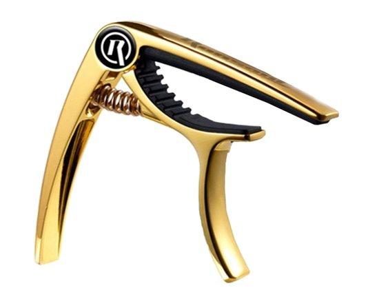 Capotraste Ronsani Pro-R Deluxe Dourado