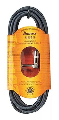 Cabo Instrumento Ibanez Dsc 6 L 1,87m Plug 90° Graus