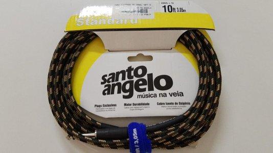 Cabo Instrumento Santo Angelo Textil 3 M Cores Plug 90 G