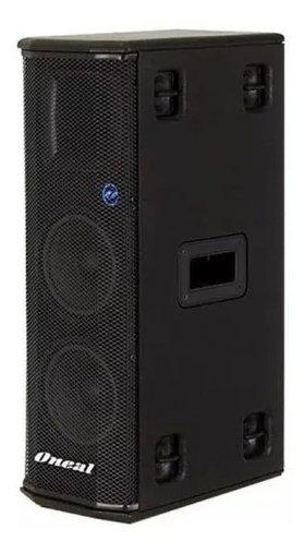 Caixa Acústica Oneal Ativa Opb2600f 6pol 350w Preta C/ Nfe