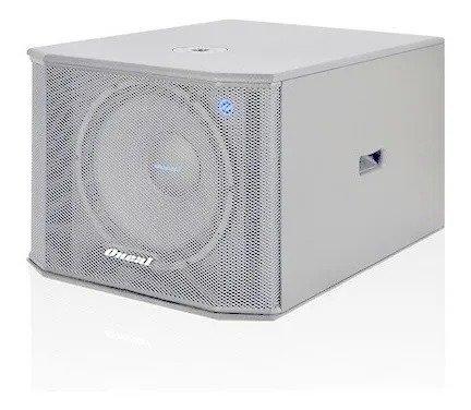 Caixa Acústica Oneal Passiva Obsb 3215 15pol 300w Rms Branca