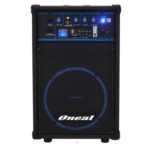 Caixa Amplificada Multiuso Oneal Ocm290 50w Rms Usb/fm