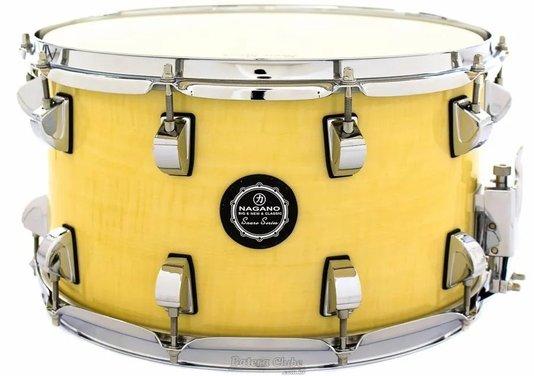 Caixa Nagano Snare Series Big Beat 14x8 Natural Clear