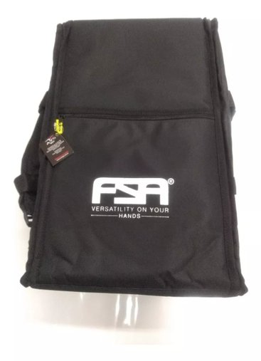 Capa Bag Para Cajon Fsa Confort Super Luxo Preta
