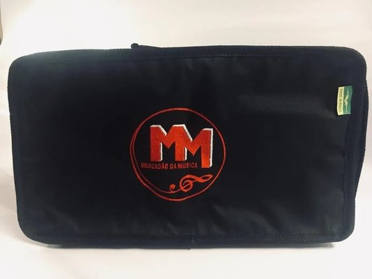 Capa Bag Para Pedal Duplo De Bateria Avs Mm Com Nota Fiscal
