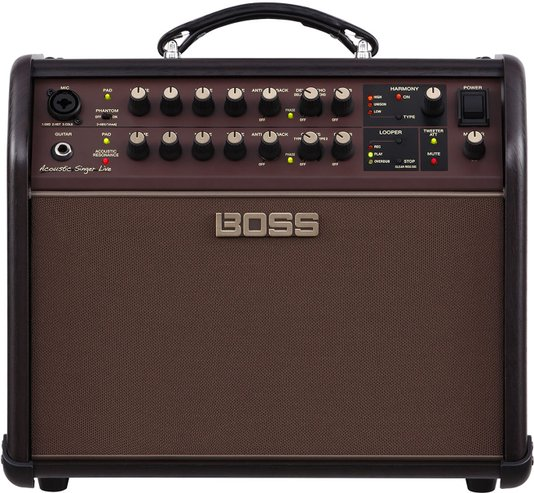Amplificador Violão Boss Acoustic Singer Live 60Watts