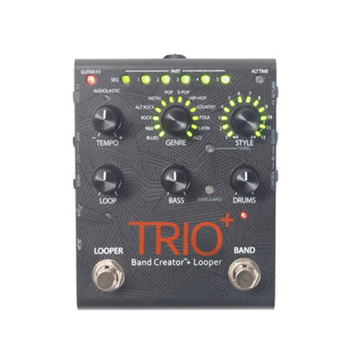 Pedal para Guitarra Digitech TRIO Band Creator Plus com Looper