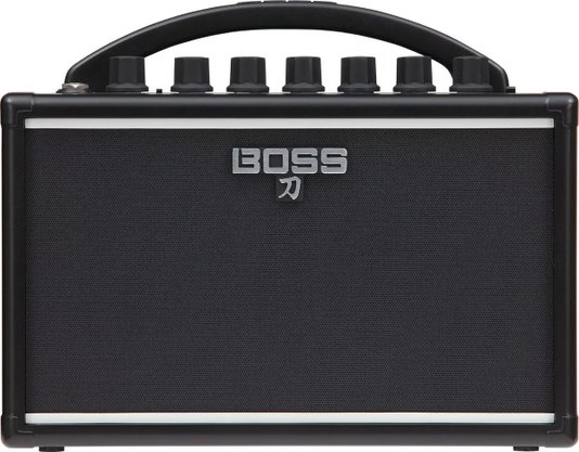 Cubo Mini Amplificador Boss Katana Mini Compacto Com Delay