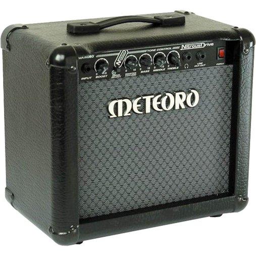 Cubo Para Guitarra Meteoro Nitrous Drive 15watts Falante 8