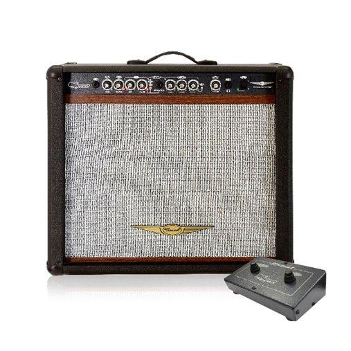 Cubo Para Guitarra Oneal Ocg 400r Cr 90w Rms Preto