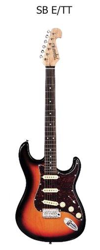 Guitarra Tagima Stratocaster Sunburst T-635 Classic New Escala Escura Escudo Turtoise