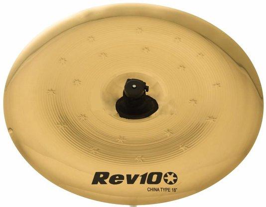 """Prato para Bateria Orion Rev10 China 18"""" RV18CH Liga Bronze B10"""