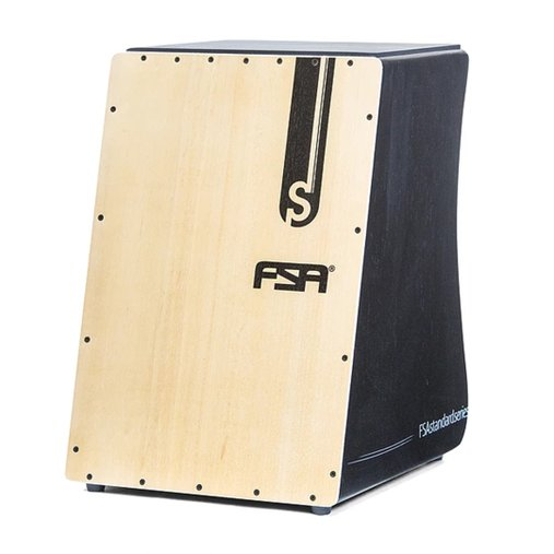 Cajon Inclinado FSA Standard Series FS2501 Laterias Pretas E Captação Dupla