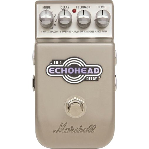 Pedal para guitarra Marshall Echo Head Digital Delay EH1 Com LED de Status