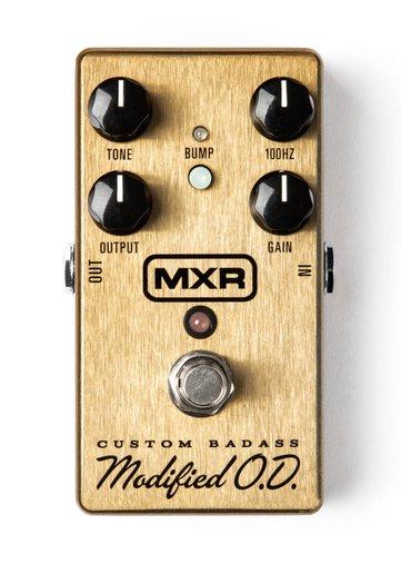 Pedal Para Guitarra Dunlop MXR Custom Badass Modified O.D M77 Overdrive